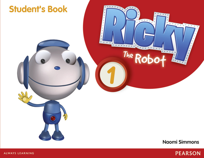Ricky the Robot 1 SB cover