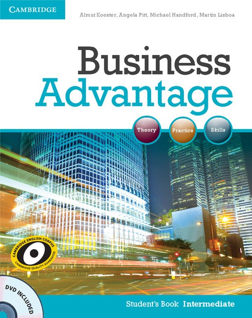 Business Advantage Int cover