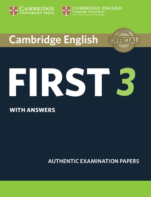 Cambridge English First Cover