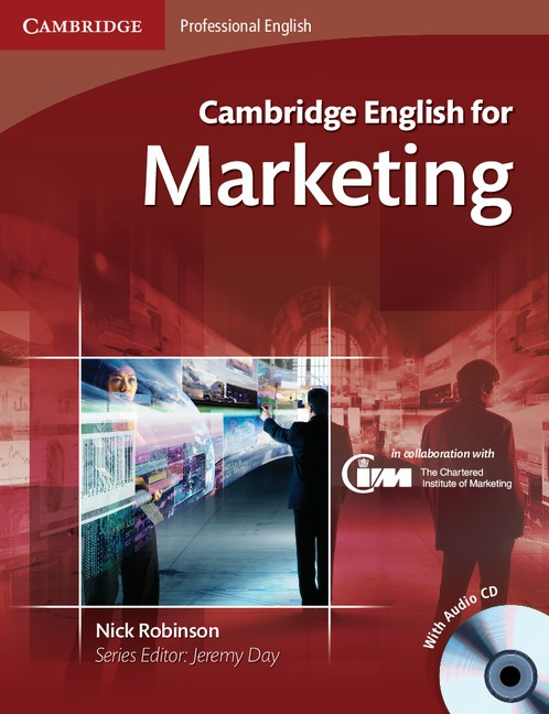Cambridge English for Marketing cover