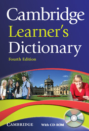 Cambridge Learner Dictionary cover