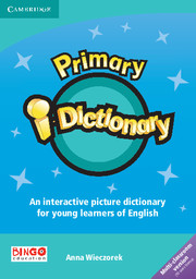 Cambridge Primary Dictionary cover