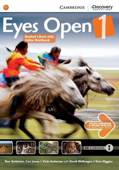 Eyes Open 1 cover